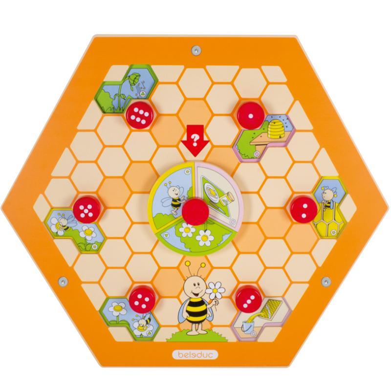 Настенный бизиборд Пчелы фото