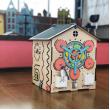 Бизиборд Домик с подсветкой фотографии