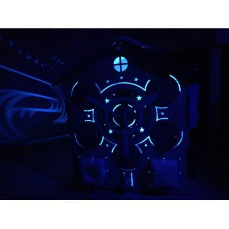 Бизиборд Домик с подсветкой