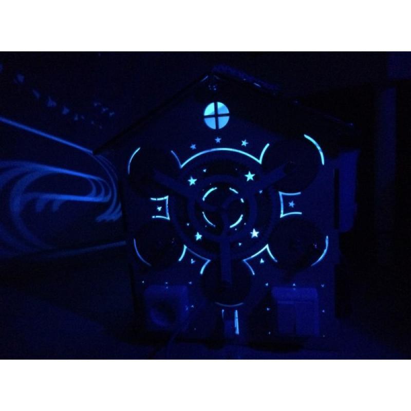 Бизиборд Домик с подсветкой фото