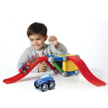 Магнитный конструктор Bondibon SmartMax - Basic Stunt
