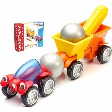 Магнитный конструктор Bondibon SmartMax - Трейлер Томми