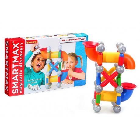 Магнитный конструктор Bondibon SmartMax - Детская площадка