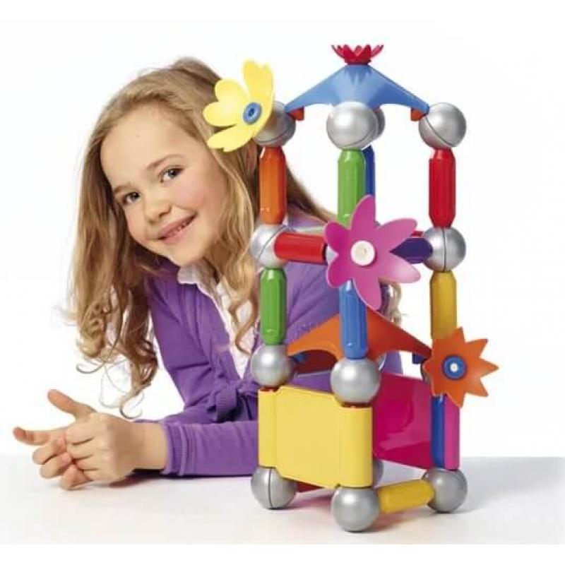 Магнитный конструктор Bondibon SmartMax - Цветочный дворец фото