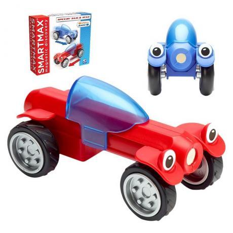 Магнитный конструктор Bondibon SmartMax - Гонщики Сэм и Стэн