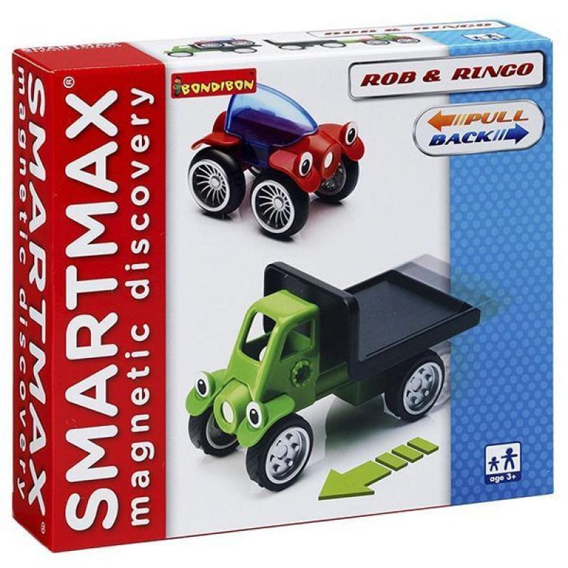 Магнитный конструктор Bondibon SmartMax - Роб и Ринго фото