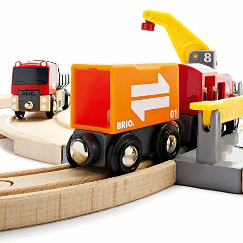 Набор для железной дороги Brio Ж/д переезд фото