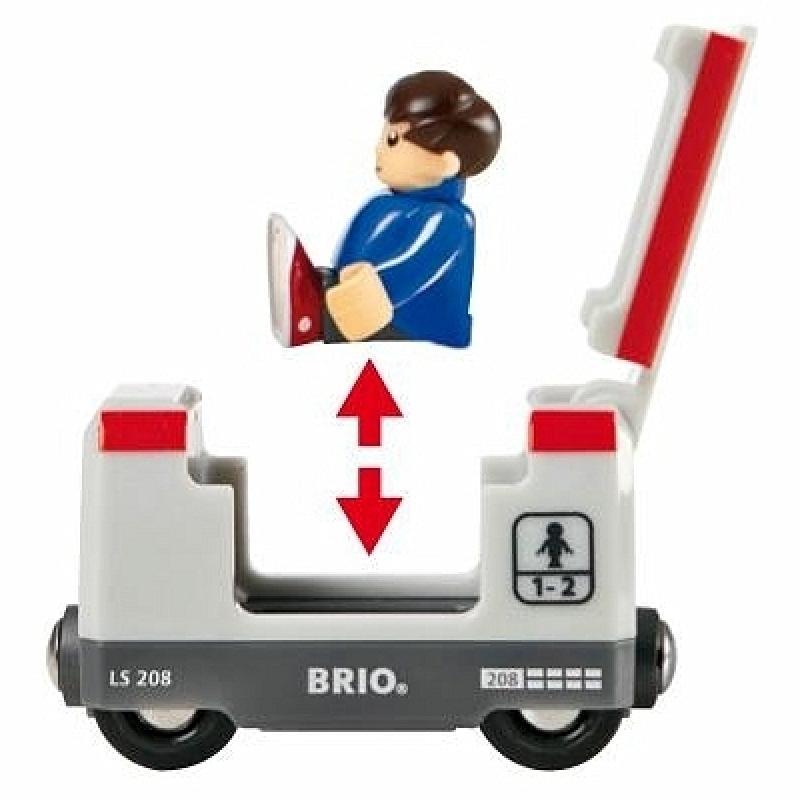 Железная дорога Brio со светофором, экспресс-поездом фото