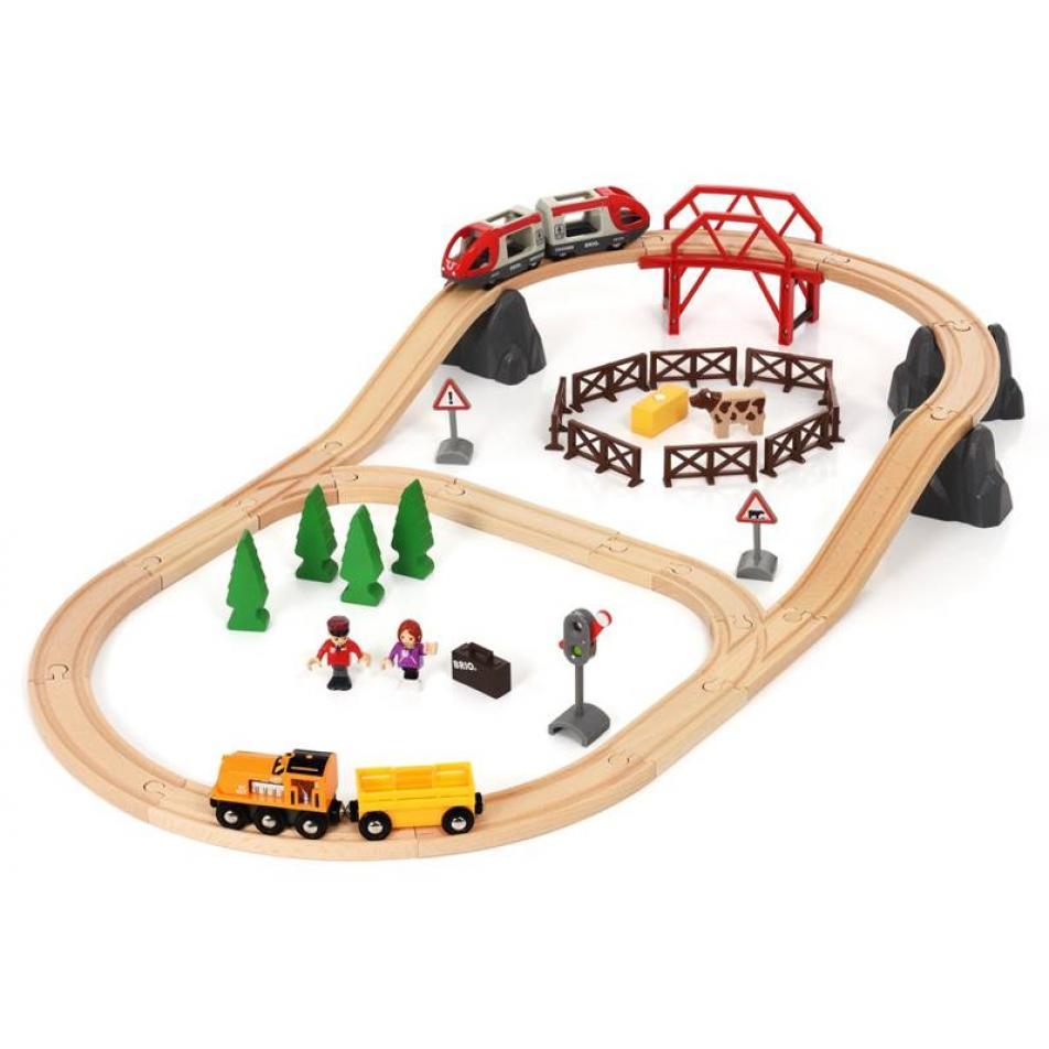Brio Железная дорога в сельской местности