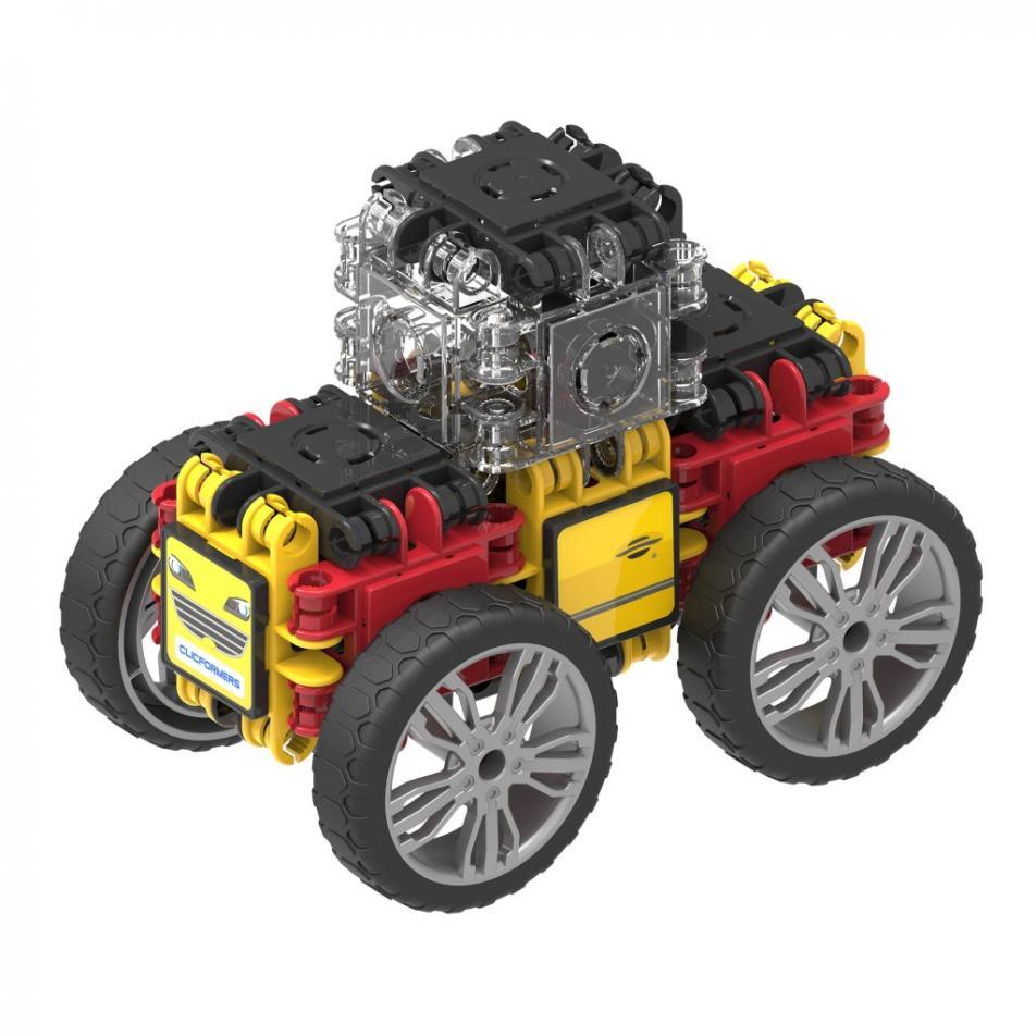Конструктор CLICFORMERS 803001 Speed Wheel set 34 детали