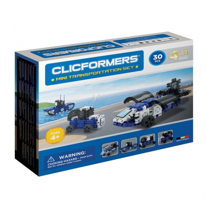 Конструктор CLICFORMERS 804002 Transportation set mini 30 деталей фото