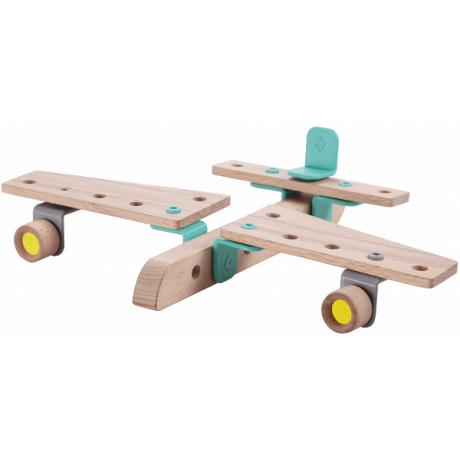 Деревянный конструктор Classic World Самолет