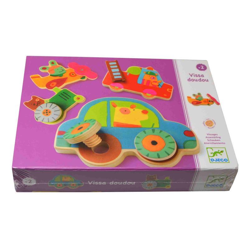 Развивающая игра Djeco - Прикрути колесо фото
