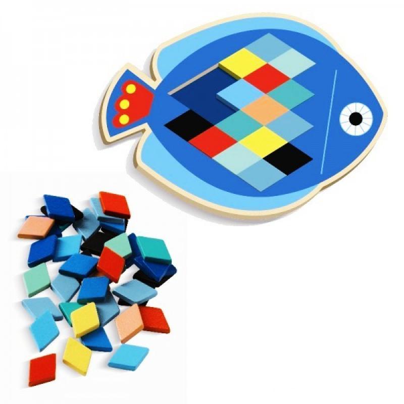 Мозаика Djeco - Рыбка фото