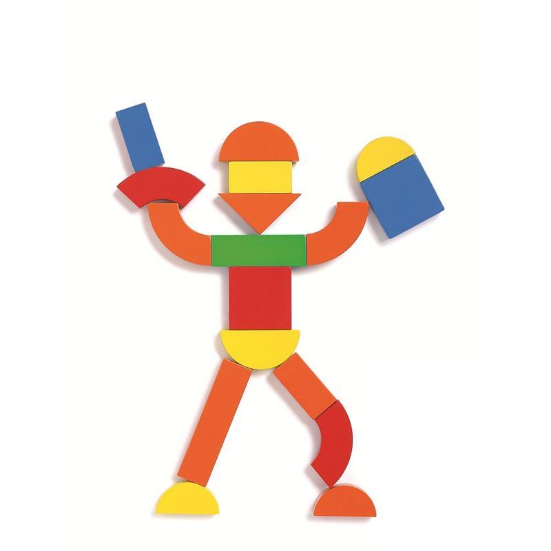 Детская развивающая магнитная игра - Геоформ фото