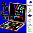 Детская развивающая магнитная игра - Гео человечки фотографии