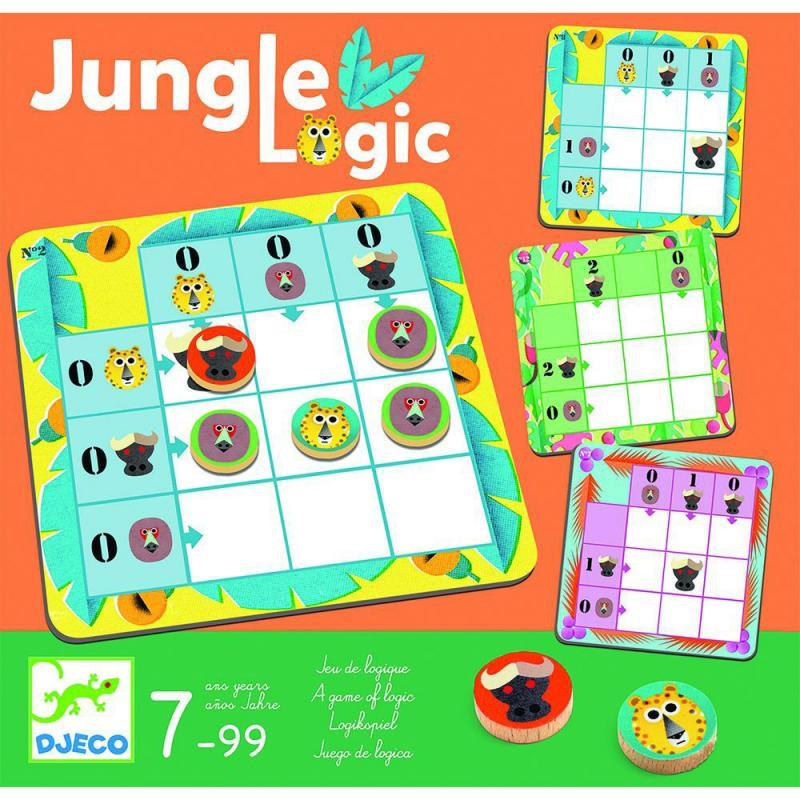 Игра настольная Djeco - Джунгли фото