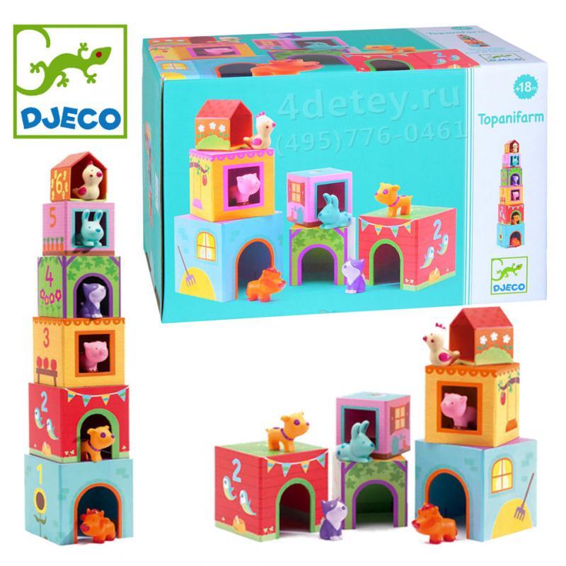 Пазл-кубики Djeco - Ферма фото