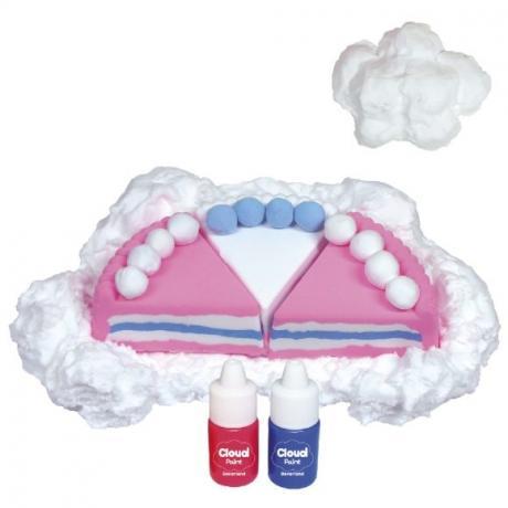 Масса для лепки Angel Cloud 100гр (малиновая)