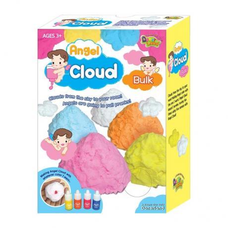 Масса для лепки Angel Cloud 100гр (оранжевая)