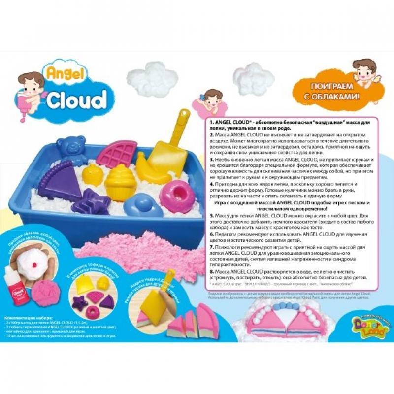Набор массы для лепки Angel Cloud Большой набор для творчества фото