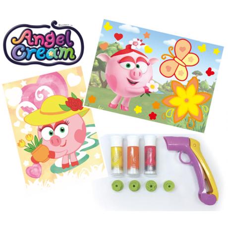 Набор для рисования Angel Cream Смешарики Нюша, 3 цвета