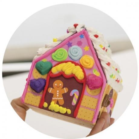 Набор для рисования Angel Cream Пряничный домик (Cookie House), 8 цветов