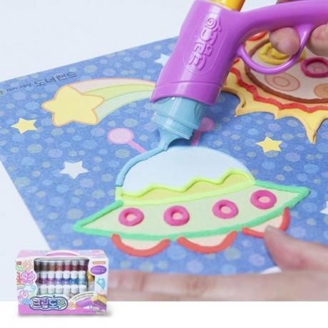 Набор для рисования Angel Cream Креативный художник (Artist Set), 24 цвета
