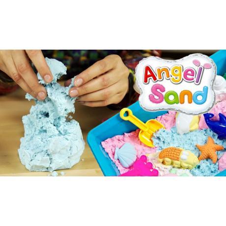 Игровой песок Angel Sand Голубой 0,9 л