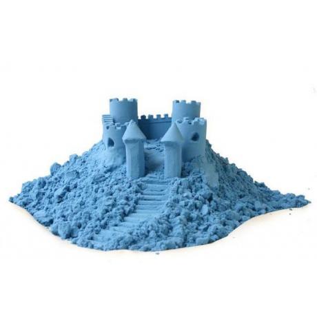 Игровой песок Angel Sand Светящийся в темноте (голубой) 0,9 л