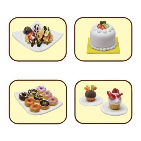 Набор для лепки Miniatures Play Кремовый торт (Cream Cake)