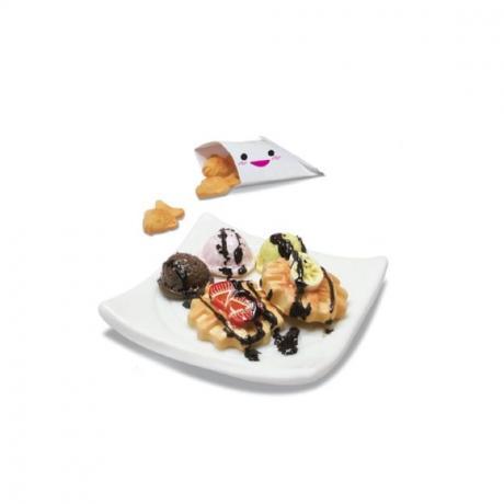 Набор для лепки Miniatures Play Сладкие вафли (Waffle & Fish bun)