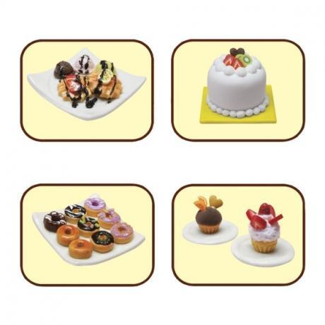 Набор для лепки Miniatures Play Кексы (Cup Cake)