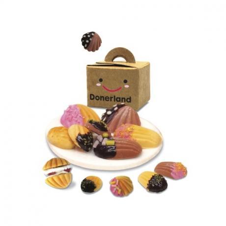 Набор для лепки Miniatures Play Миндальные печенья (Madeleine)