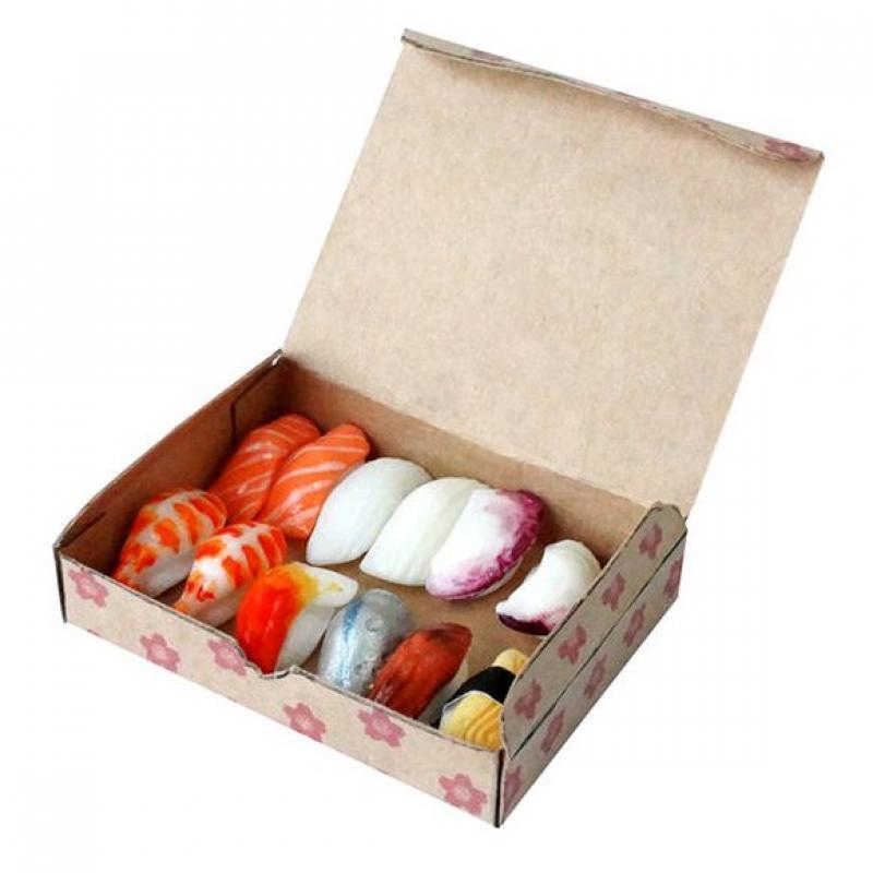 "Набор для лепки Miniatures Play Суши ""Мурена с яйцом"" (Eels & Egg Sushi) фото"