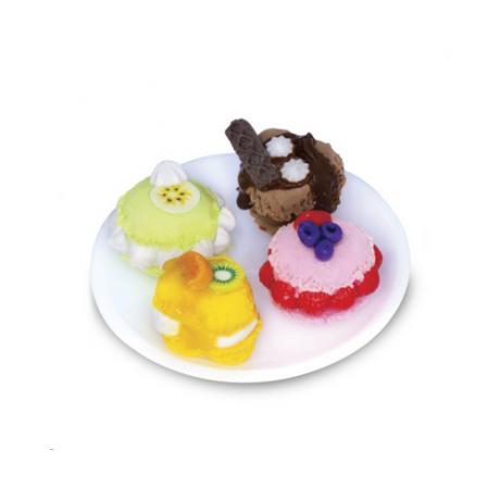Набор для лепки Miniatures Play Выпечка Макарони (Macaroon)