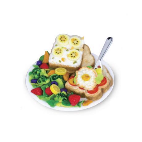 Набор для лепки Miniatures Play Выпечка Тост (Toast)