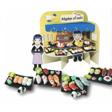Набор для лепки Miniatures Play Мастер суши (Master of Sushi)