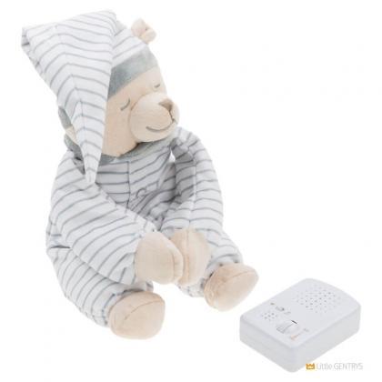 Умная игрушка Doodoo Babiage Мишка в полоску спящий