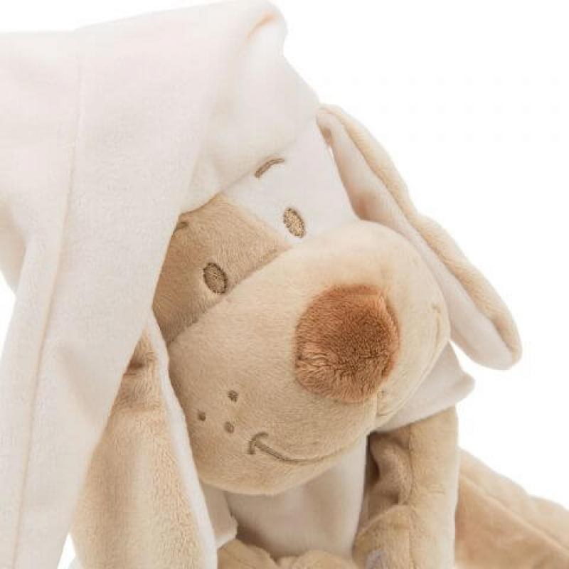 Умная игрушка Doodoo Babiage Собачка бежевая фото