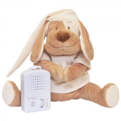 Умная игрушка Doodoo Babiage Собачка бежевая