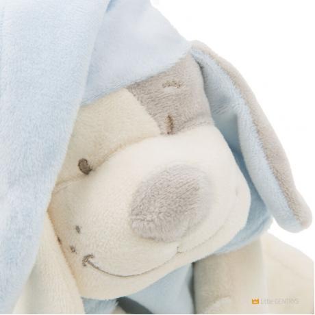Умная игрушка Doodoo Babiage Собачка голубая