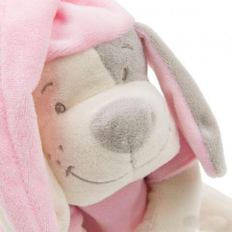 Умная игрушка Doodoo Babiage Собачка розовая