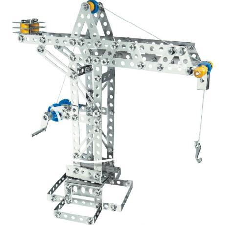 Конструктор EITECH 00005 Кран механический 270 деталей