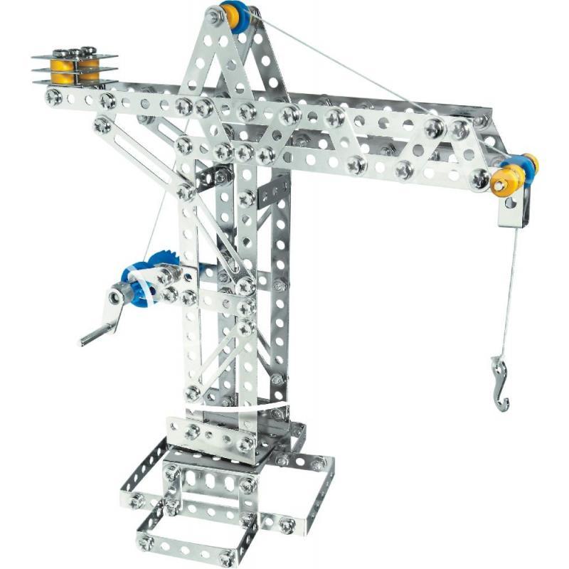 Конструктор EITECH 00005 Кран механический 270 деталей фото