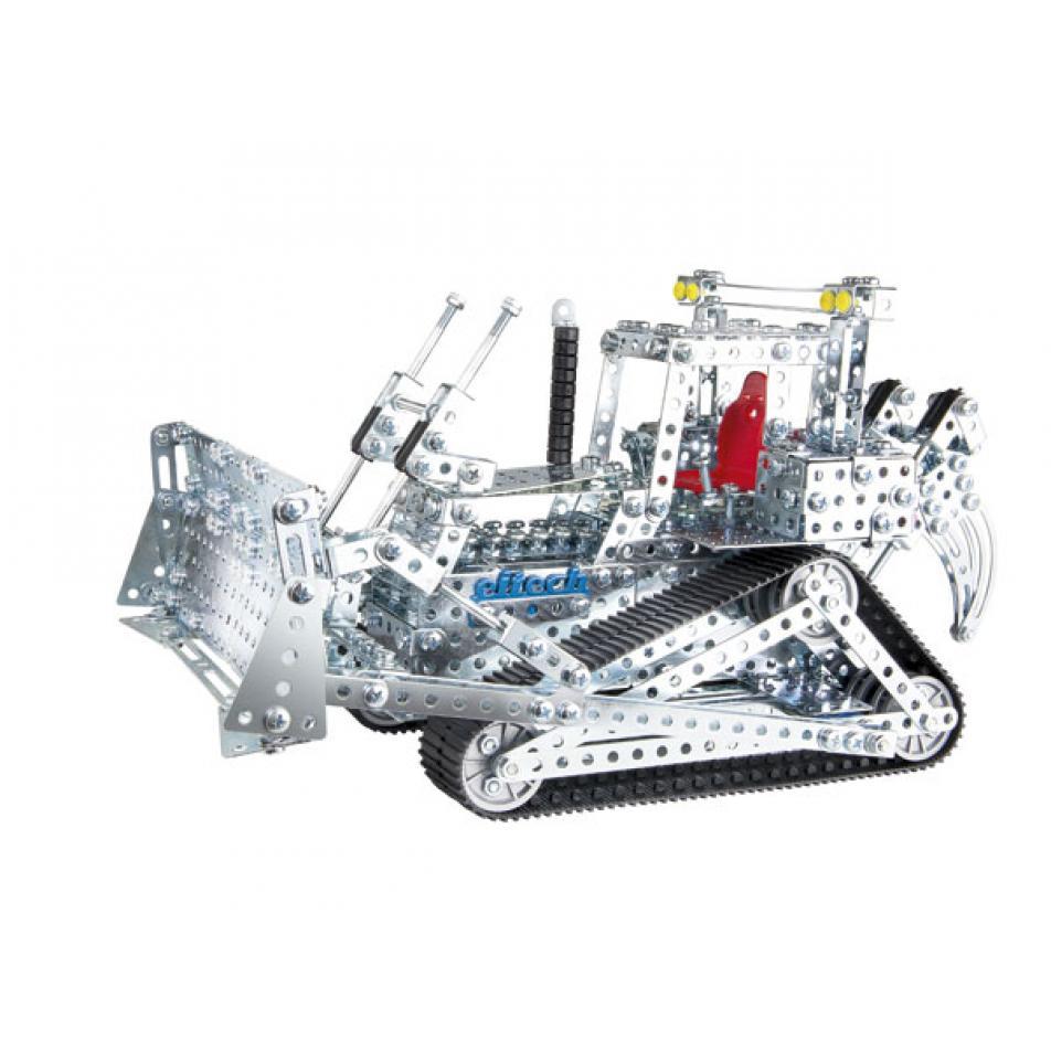 Конструктор EITECH 00019 Экскаватор и Бульдозер 1470 деталей
