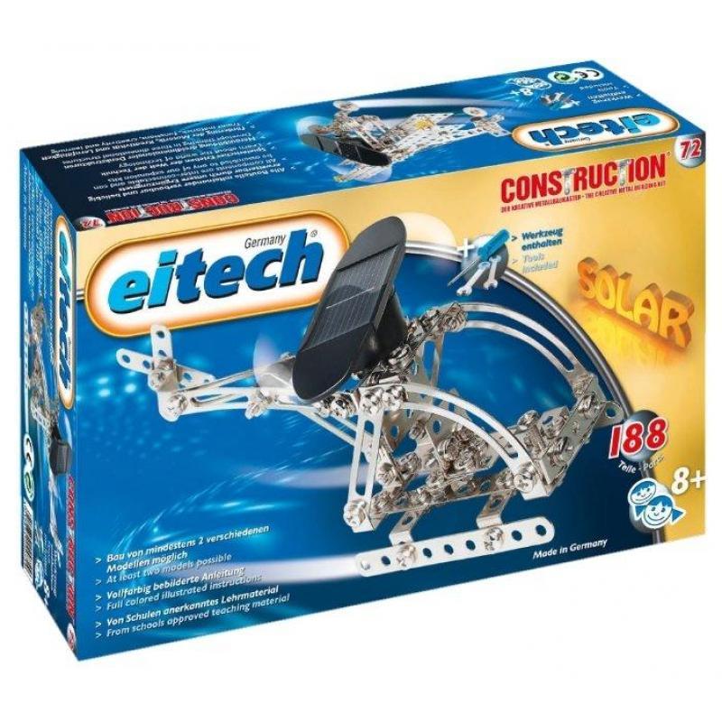 Конструктор EITECH 00072 Вертолет 188 деталей фото