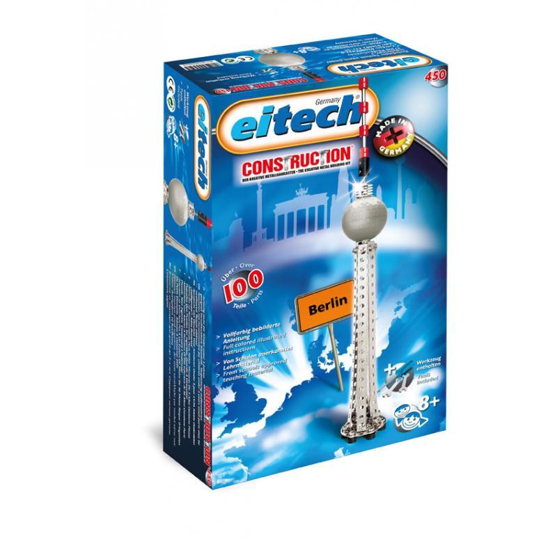 Конструктор EITECH 00450 Берлинская телебашня 100 деталей фото