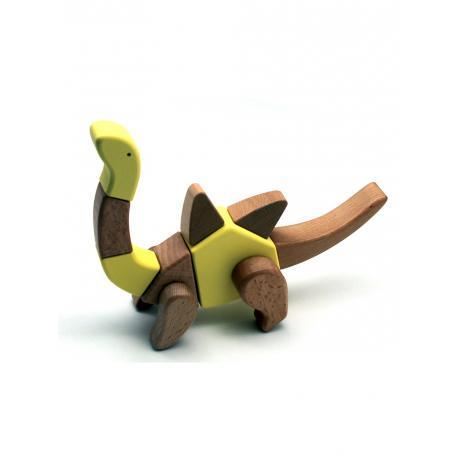 Деревянный конструктор EQB - Брахиозавр