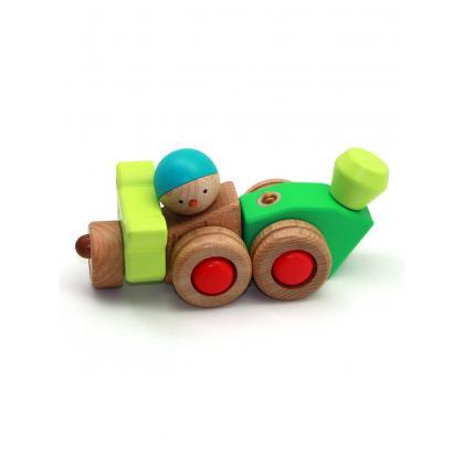Деревянный конструктор EQB -  Енот